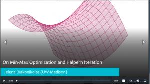 On Min-Max Optimization and Halpern Iteration